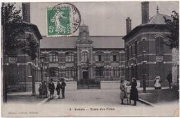02 BOHAIN - École Des Filles - Photo-Émail BREGER - Frankreich