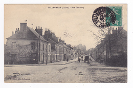 45 Bellegarde Entre Montargis Et Orléans Rue Demersay N°6 Cléret édit Bellegarde PUB Chocolat Menier Le Petit Journal - Montargis