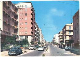 Siracusa: DKW JUNIOR , FIAT 1100, 500, 1100BL TAXI - Corso Gelone -  (Italia) - Passenger Cars
