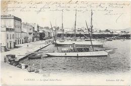 CANNES: LE QUAI SAINT PIERRE - Cannes