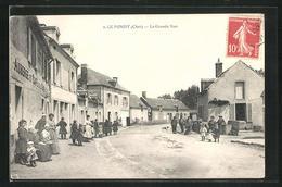 CPA Le Pondy, La Grande Rue, Vue De La Rue - France