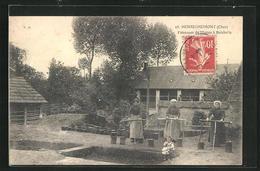 CPA Henrichemont, Faiseuses De Mottes A Boisbelle - Henrichemont