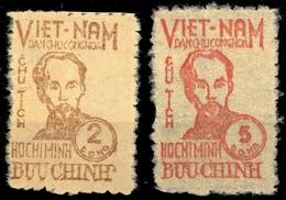 1948, Vietnam Nord Und Republik, 2-3 B, ** (19994442434) - Vietnam