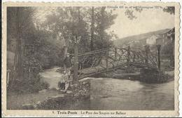Trois-Ponts - Le Pont Des Soupirs Sur Balleur - Trois-Ponts