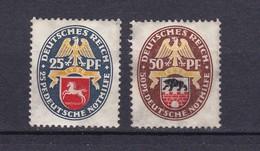 Deutsches Reich - 1928 - Michel Nr. 428/29 - Ungebr. - 35 Euro - Allemagne