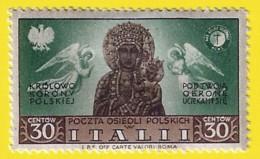 Polonia. Poland. Italii. 1948. Poland Poczta Osiedli Polskich. Polish Resettlement Corps - Otros