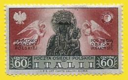 Polonia. Poland. Italii. 1948. Poland Poczta Osiedli Polskich. Polish Resettlement Corps - Other