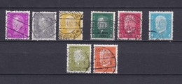 Deutsches Reich - 1930/32 - Michel Nr. 435/37+444/45+454+465/66 - Gest. - Gebraucht
