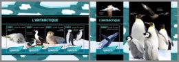 DJIBOUTI 2019 MNH Antarctic Animals Tiere Am Südpol Animaux De Antarctique M/S+S/S - IMPERFORATED - DH2005 - Antarctic Wildlife