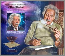 GUINEA REP. 2019 MNH 140. Birthday Albert Einstein S/S - IMPERFORATED - DH2005 - Albert Einstein