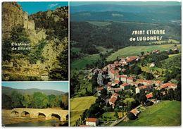 CP SAINT ETIENNE DE LUGDARES Et Ses Environs - Multi Vues - 3 Vues - Ed. Cellard N° A.685 - France