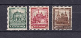 Deutsches Reich - 1931 - Michel Nr. 459/60+462 - Ungebr. - Germany