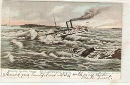 """Shooting Lachine Rapids. St.Lawrence River"" Tuck Postcard Series 1062 - Tuck, Raphael"