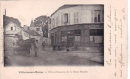 94 -  Val De Marne - VILLIERS SUR MARNE  - Villa Et Brasserie De La Dame Blanche - Villiers Sur Marne