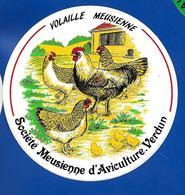 A.C  VOLAILLE MEUSIENNE VERDUN - Stickers