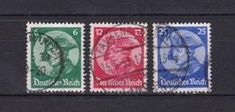 Deutsches Reich - 1933 - Michel Nr. 479/481 - Gest. - 30 Euro - Germany