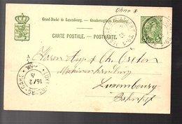 1905 REDANGE-SUR-ATTERT Francois Kalmes Serrurier-mécanicien COLPACH (924) - Entiers Postaux