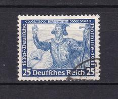 Deutsches Reich - 1933 - Michel Nr. 506 A - Gest. - 50 Euro - Allemagne