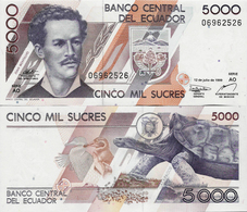 Ecuador 1999 - 5000 Sucres - Pick 128c UNC - Ecuador