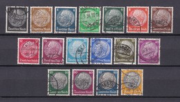 Deutsches Reich - 1933/36 - Michel Nr. 512/528 - Gest. - Allemagne