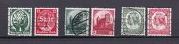 Deutsches Reich - 1934 - Michel Nr. 544/47+554/55 - Gest. - Deutschland
