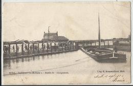 """MOL - MOLL  Sablières """"La Molloise"""" - Bassin De Chargement (binnenscheepvaart, Navigation Intérieure) - Mol"""