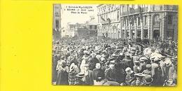 REIMS Arrivée Cardinal LUCON Place Du Parvis () Marne (51) - Reims