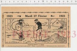 2 Scans Humour Jour De Pluie Parapluie Couverture Toits Toiture Cantonnier Village Réfection Route Pierres Ivrogne 222R1 - Documentos Antiguos