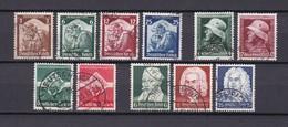 Deutsches Reich - 1935 - Michel Nr. 565/75 - Gest. - 24 Euro - Deutschland