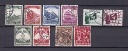Deutsches Reich - 1935 - Michel Nr. 580/87+598/99 - Gest. - 25 Euro - Deutschland