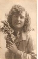 """Prety Smiling Girl. Marguerite"" Tuck Hand Coloured Photogravure PC # 4297 - Tuck, Raphael"
