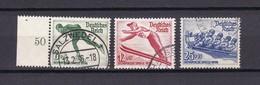 Deutsches Reich - 1935 - Michel Nr. 600/602 - Gest. - Oblitérés