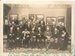 Grande Photo - Société Des Beaux Arts à Alger En 1932 - Tableaux - Peintures - Algérie - Luoghi
