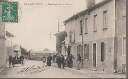 ALLAND'HUY - RUE DE LA GARE - Other Municipalities