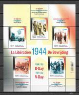 "België 2019 Velletje ""  1944 De Bevrijding "" (**) - Belgique"