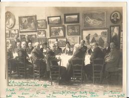 Grande Photo - Société Des Beaux Arts à Alger En 1932 - Tableaux - Peintures - Algérie - Nu - Nude - Nus - Luoghi