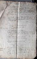 73  MONTAIMONT SAINT MARTIN SUR LA CHAMBRE ETAT DES REVENUS ET VENTES DE M ALPHONSE DE LAPEROUSE INVENTAIRE 1750 - Historische Dokumente