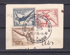 Deutsches Reich - 1936 - Michel Nr. 609/10+612 - Sonderstempel - Gest. - Allemagne