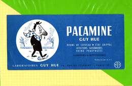 BUVARD & Blotting Paper  : Pharmacie PACAMINE  Laboratoire Guy Hue - Produits Pharmaceutiques
