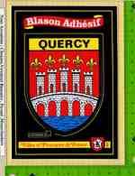 Blason Adhesif : Villes Et Provinces QUERCY  Ecusson Detachable - Andere Gemeenten