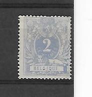 België N° 27 ZONDER GOM  KLEUR !!!!! - 1869-1888 Lying Lion