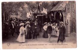 6698 - Exposition De Clermont-Ferrand De 1910 ( 63 ) - Un Coin De La Rue D'Auvergne - E.L.D. - - Clermont Ferrand