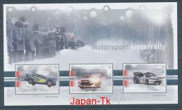 NORWEGEN Mi.Nr. Block 33 Motorsport: Winterrallye - MNH - Blocks & Kleinbögen