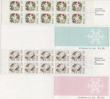 1985 ** (sans Charn., MNH, Postfrish)   Yv C894/95  Mi H-Blatt   NHK FH 64 - FH 65 - Carnets