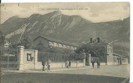 GRENOBLE  ( ISÈRE )   LES ABATTOIRS ET LE MONT JALLA - Grenoble
