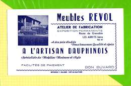 BUVARD & Blotting Paper  : Meubles REVOL  Artisan DUAPHINOIS  Les ABRETS ISERE - Produits Ménagers