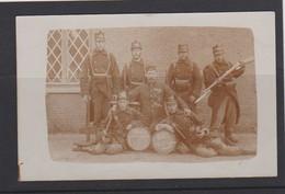 LEOPOLDSBURG-KAMP VAN BEVERLO-SOLDATEN-12DE LINIE-KLAROEN-BAJONET-FOTOKAART-VERSTUURD-1910-ZIE DE 2 SCANS! ! ! - Leopoldsburg (Camp De Beverloo)