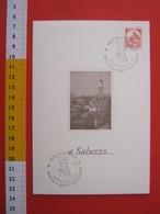 A.13 ITALIA ANNULLO 1997 SALUZZO CUNEO ASSEMBLEA CIFT C.I.F.T. TEMATICA OMAGGIO GIAMBATTISTA BODONI INCISORE ARTE ART - Incisioni