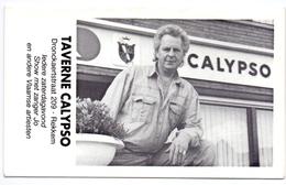 Kalender Calendrier - 1992 - Pub Reclame Taverne Calypso - Rekkem - Calendriers