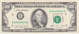 BILLETE DE ESTADOS UNIDOS DE 100 DOLLARS DEL AÑO 1990 LETRA B NEW YORK CALIDAD EBC (XF) (BANK NOTE) - Billets De La Federal Reserve (1928-...)